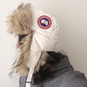 Canada Goose Aviator Hat - Real Fur
